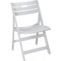 Plastico Monolya Katlanabilir Plastik Sandalye Beyaz