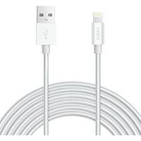 Aukey CB-D41 USB Kablo Gümüş