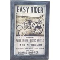 Nill Dünyası El Boyama Tasarım Easy Rider Ahşap Pano