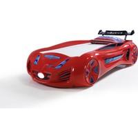 Musvenus Mobilya Future Arabalı Yatak Kırmızı