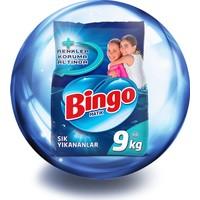Bingo Sık Yıkananlar Toz Çamaşır Deterjanı 9 Kg