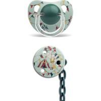 Suavinex 3801431 Silikon Emzik Ve Zincir Set 6 Ay