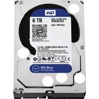 """WD Blue 6TB 5400RPM Sata 3.0 64MB 3,5"""" Sabit Disk (WD60EZRZ)"""