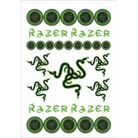 Stickermarket Razer Sticker Seti