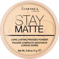 Rimmel London Stay Matte Pressed Powder Pudra 001-TRANSPARENT