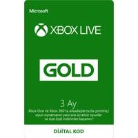 Xbox Live Gold Üyeliği - 3 Ay