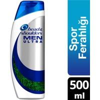 Head & Shoulders Men Ultra 500 ml Ekstra Spor Ferahlığı Erkeklere Özel Şampuan