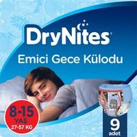 Huggies DryNites Erkek Emici Gece Külodu 8-15 Yaş 9 Adet