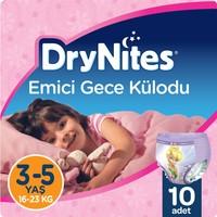Huggies DryNites Kız Emici Gece Külodu 3 - 5 Yaş 10 Adet