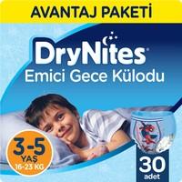 Huggies DryNites Erkek Emici Gece Külodu 3 - 5 Yaş Fırsat Paketi 30 Adet