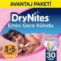 Huggies DryNites Kız Emici Gece Külodu 3 - 5 Yaş Fırsat Paketi 30 Adet