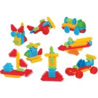 Dede Kaktüs Blocks 55 Parça Eğitici Öğretici Oyuncak Blok Lego