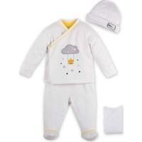İdil Baby 9645 4'lü Bebek Zıbın Takımı