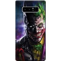 Kılıf Merkezi Samsung Galaxy Note 8 Kılıf Silikon Baskılı Joker STK:594