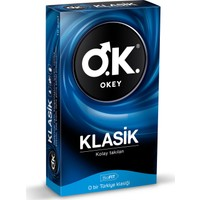 Okey Klasik Prezervatif 10'lu