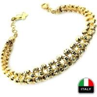 Kuyumcunuz Altın Gösterişli İtalyan Sarı Kelepçe Bilezik (14 Ayar)