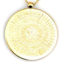 Kuyumcunuz Esma-Ül Hüsna Plaka Altın Kolye (14 Ayar)