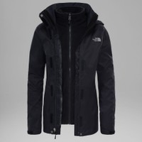 The North Face - W evolve II triclimate jacket - eu Bayan Mont (fw17) Siyah