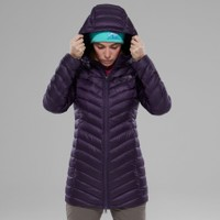 The North Face Trevail Parka Kadın Mont Mor