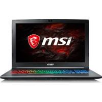 "MSI GF62 7RE-2800XTR Intel Core i7 7700HQ 8GB 1TB GTX1050Ti Freedos 15.6"" FHD Taşınabilir Bilgisayar"