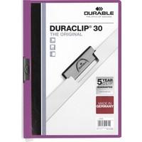 DURABLE DURACLIP Original 30 Sf. Kapasiteli - Mor