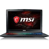 """MSI GP62M 7RDX(Leopard)-2642XTR Intel Core i7 7700HQ 16GB 1TB + 128GB SSD GTX1050 Freedos 15.6"""" FHD Taşınabilir Bilgisayar"""