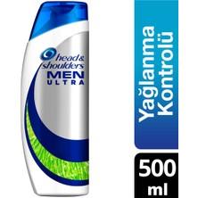 Head & Shoulders Men Ultra 500 ml Maksimum Yağlanma Kontrolü Erkeklere Özel Şampuan