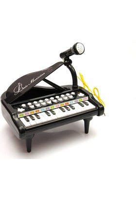 Vardem Oyuncak 1505B Kutulu 3 Ast.Küçük Piyano / Siyah
