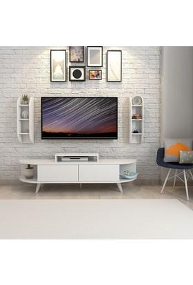 Mars Mobilya Evra Beyaz Tv Ünitesi