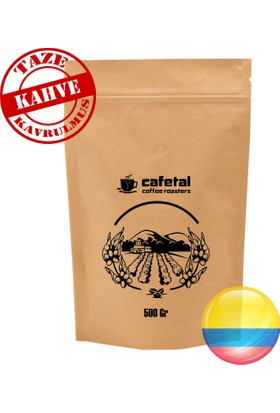 Kolombiya Yöresel Filtre Kahve 500 gr ( Kahve Makinesi İçin)