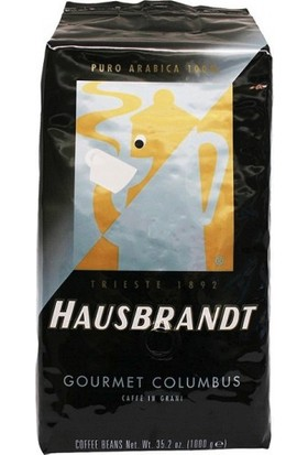 Hausbrandt Gourmet Columbus Arabica Çekirdek Kahve - 1 kg