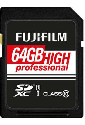 Fujifilm 64GB SDXC Class 10 UHS1 Hafıza Kartı