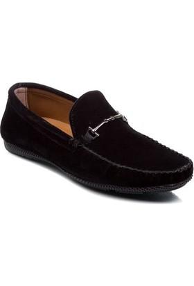 Deristudio Nst114 Siyah Süet Erkek Günlük Ayakkabı