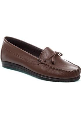 Deristudio Chn410 Kahve Kadın Yazlık Günlük Ayakkabı