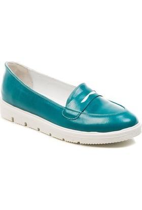 Deristudio Cnk3001 Turkuaz Kadın Günlük Ayakkabı