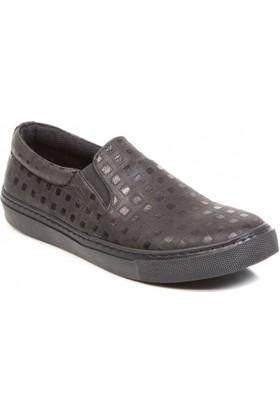 Deristudio Cnk3200 Siyah Desenli Kadın Günlük Ayakkabı
