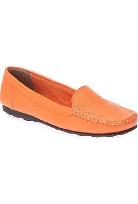 Deristudio Dst705 Oranj Kadın Günlük Ayakkabı