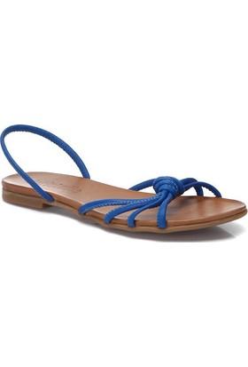 Deristudio Yb9059 Sax Mavi Kadın Sandalet