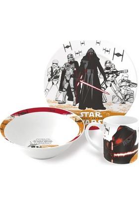 Disney Star Wars Episode Porselen 3'lü Beslenme Seti
