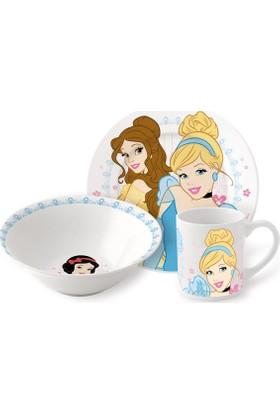 Disney Princess Porselen 3'lü Beslenme Seti