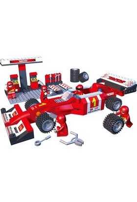 Cogo Formula 1 Yarış Seti 218 Parça Lego