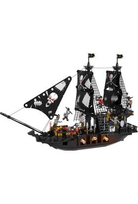Cogo Büyük Boy Korsan Seti 807 Parça Lego