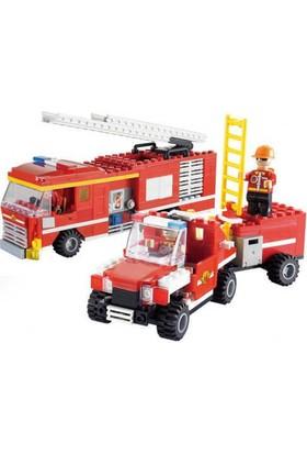 Cogo İtfaiye Oyun Seti 324 Parça Lego