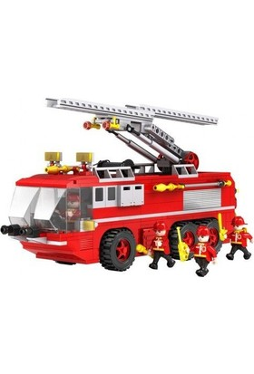 Cogo İtfaiye Oyun Seti 424 Parça Lego