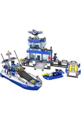 Cogo Deniz Polisi Seti 644 Parça Lego