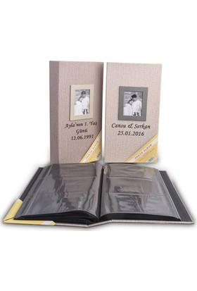 Vedemo Kişiye Özel İsimli Fotoğraf Albümü 300 Lük 10X15 Koton