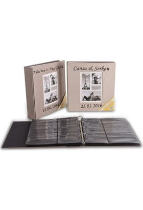 Vedemo Kişiye Özel İsimli Fotoğraf Albümü 500 Lük 10X15 Koton