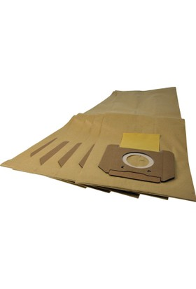 Karcher NT25/1 & NT35/1 & NT45/1 & NT48/1 Elektrikli Süpürge Kağıt Toz Torbası