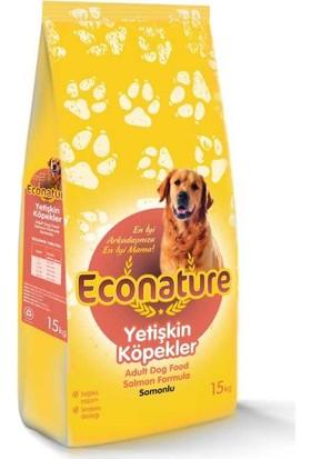Econature Somonlu Yetişkin Köpek Maması 15 Kg