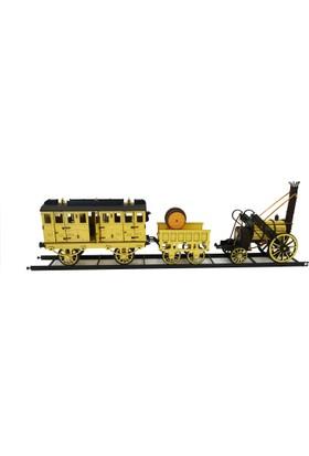 Stephenson Wooden Age Ahşap Lokomatif Tren
